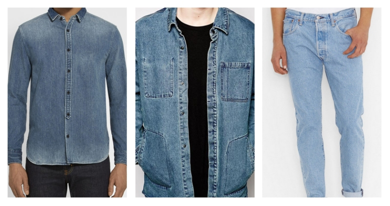 Denim, Jeans, Levi's, CK, Calvin Klein, Double Denim, Trend, Menswear, Clothes, Fashion, Style, Styling, Shopping