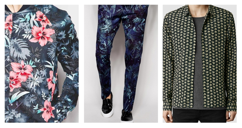 Floral, Trend, Spring, Summer, 2015, Fashion, Menswear, Style, Shopping, Clothes