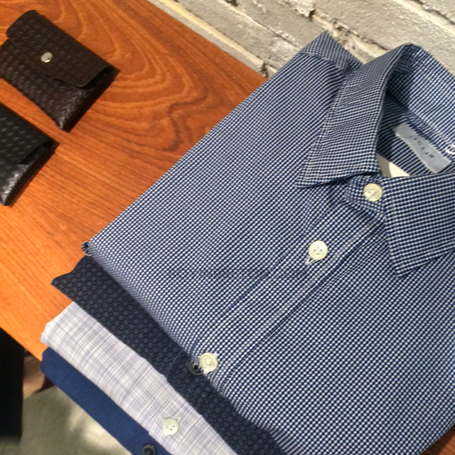 The shirting options are varied from soft chambrays to micro checks. Work and play shirting, sorted!