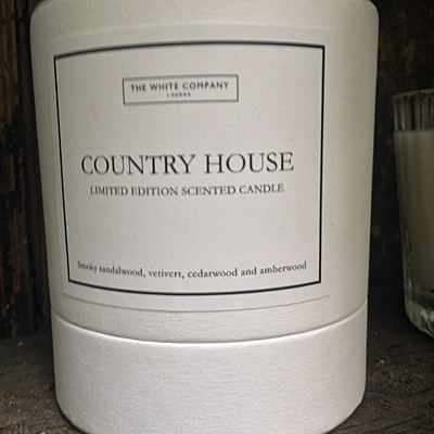 The new Country House candle.