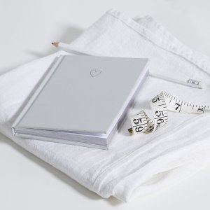Heart Notebook The White Company Christmas