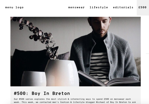 Off the cuff london male mens blog bloggers lifestyle fashion menswear boyinbreton boyinbreton.com boy in breton
