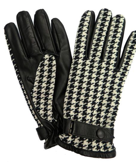 Orley Houndstooth gloves