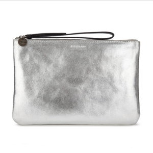 Jigsaw Metallic Large Clutch