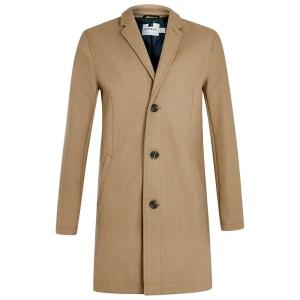 Topman Camel Overcoat