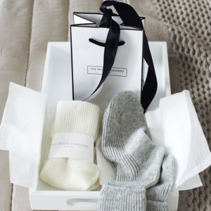 The White Company Cashmere Socks