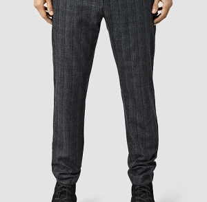 AllSaints Decatur Trousers Menswear Mens Formal Suit Crop SS16 Boy in Breton Blog