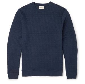 Oliver Spencer Lima Stitch Quilt Jumper Sweatshirt Menswear Blog Fashion Boy in Breton