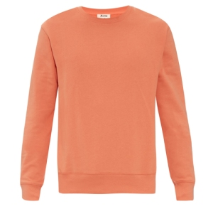 ACNE STUDIOS Casey cotton sweatshirt