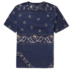 BURBERRY PRORSUM Paisley-Print Cotton-Jersey T-Shirt Boy in Breton Menswear Blog Blogger Fashion Style