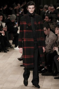 BURBERRY LCM AW16 FASHION BLOG BOY IN BRETON