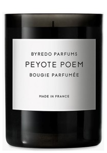 BYREDO PARFUMS CANDLE PEYOTE POEM
