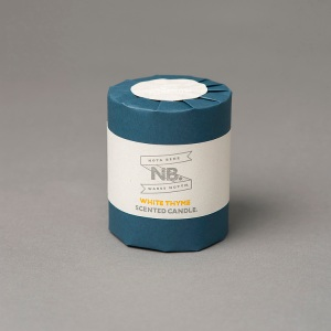NOTA BENE WARES CANDLE WHITE THYME SCENTED
