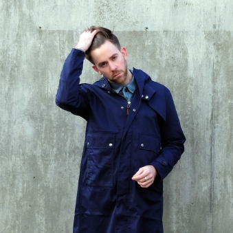 PRETTY GREEN MENSWEAR STYLE FASHION OUTFIT OF THE DAY OOTD COAT BOYINBRETON
