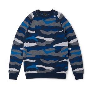 Whistles Mens Menswear Fashion Style Blog Camouflage Sweater Jumper Ss16 LCM Blog Blogger