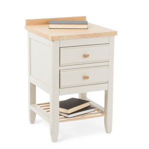 The classic form, serene palette and understated details of the Pinto range combines all the elements required to create a soothing and inviting space. Designed and crafted by British furniture makers Ercol, this quaint and practical side table is full of contemporary charm Ercol Heal's
