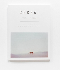 CEREAL MAGAZINE TRAVEL STYLE