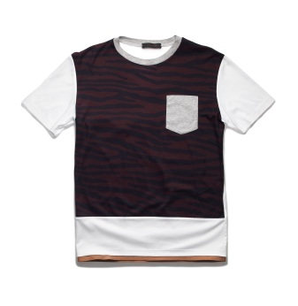 Coach x Harrods Pop Up - Banded Tiger Tee, Burgundy £135