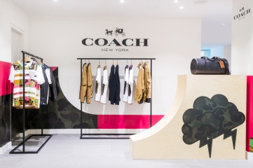 Harrods x Coach- 3rd leading shot