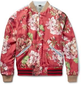 silk bomber jacket from Gucci is intricately embroidered with an elaborate design on the front and reverse. At an eyewatering £1,xxx it's certainly an investment, once the hype around the trend dies down you will still be able to wear this for years to come as it ages and looks like a vintage varsity jacket. Team with a grey t-shirt, cropped black trousers and black loafers to off-set the look lifestyle blog boyinbreton boy in breton
