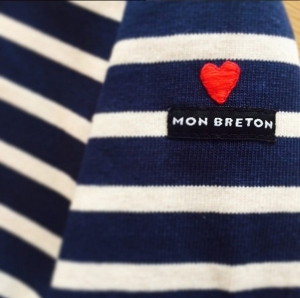 Heart Love Embroidery Mon Breton Stripes Top Boy in Breton Blog Fashion Blog Male Guy Blogger boyinbreton.com
