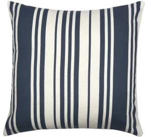 A square scatter cushion filled with the softest duck feather. It comes with a screen-printed cover blended from cotton and linen in a playful arrangement of stripes. It's a subtle way of channelling the nautical look. Greek grecian interiors design inspiration home boyinbreton.com boy in breton blog blogger lifestyle