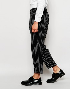ASOS WIDE LEG TROUSERS PINSTRIPE DENIM FASHION MENSWEAR MEN MENS ADVICE TIPS BLOG BLOGGER FASHION BLOG BOYINBRETON BOY IN BRETON FBLOGGER