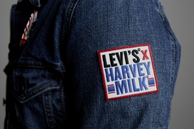 Levi's Harvey Milk Collaboration Unisex Gay Pride London Regent Street Rainbow LGBT LGBTQIA #lovewins #wornwithpride Boy in breton boyinbreton menswear fashion style blog blogger fashioblog