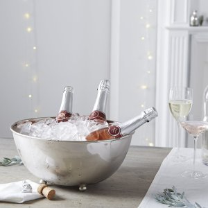 The White Company champagne trug