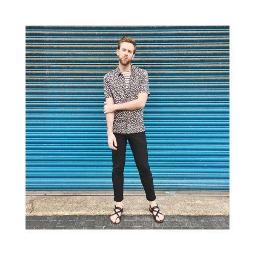 Farfetch AllSaints Hawaiian Print Short Sleeve Shirt Summer Clothes Mens Fashion Lifestyle UK Top Blog Blogger Boyinbreton boy in breton