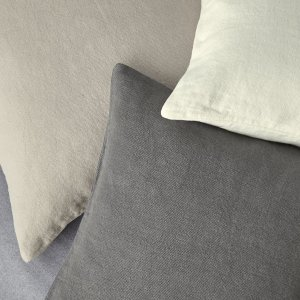 Made from a super-soft washed linen, our beautiful cushion covers are perfect for layering onto your downstairs chair or sofa. We also think they lend a stylish and relaxing look to your bed, too.