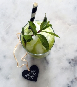Matcha tea mint mojito cocktail recipe easy lifestyle maleblog male blog blogger mens fashion london guy the white company