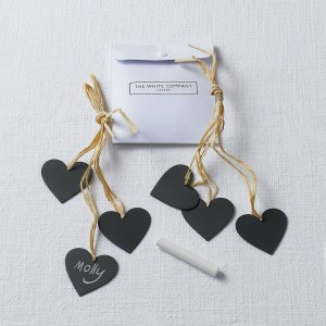 the white company slate chalk boar hearts name places napkin ties blog blogger male men boy in breton