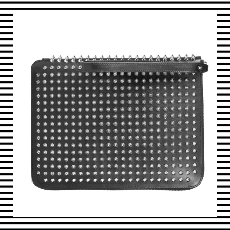 Christian Louboutin spiked l'eclaireur Origami leather MRKT Mad Rabbit Kicking Tiger ipad case sleeve wool felt tech accessory accessories mens menswear fashion style boyinbreton boy in breton blog blogger top men's