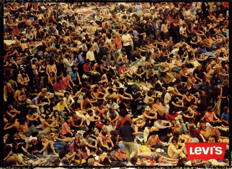 Woodstock,Music,Festival,Summer of love, 1969,fashion,freedom,revolution,Levis,Levi's
