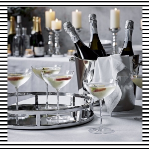 The White Company Christmas 2016 Gift guide list presents ideas entertaining decorations home drinks mirror tray blog blogger blogging lifestyle interiors boyinbreton.com boy in breton boyinbreton Champagne coup coups glasses social butterfly party