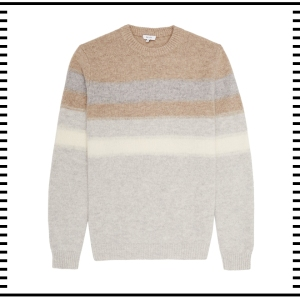 Reiss London Stripe Jumper Sweater Wool fashion clothes clothing gift guide for him christmas guide presents gifts ideas 2016 mens menswear men's lifestyle fashion technology best top blog blogger blogging boyinbreton.com boy in breton