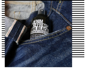 Mr. Black Denim Refresh Garment Essentials