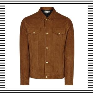 Suede Jacket Bomber Harrington Shirt men Mens Men's Fashion Style Autumn Winter How to wear Top Picks Blog blogger blogging menswear boyinbreton boy in breton Reiss