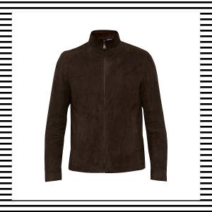 Suede Jacket Bomber Harrington Shirt men Mens Men's Fashion Style Autumn Winter How to wear Top Picks Blog blogger blogging menswear boyinbreton boy in breton Ted Baker