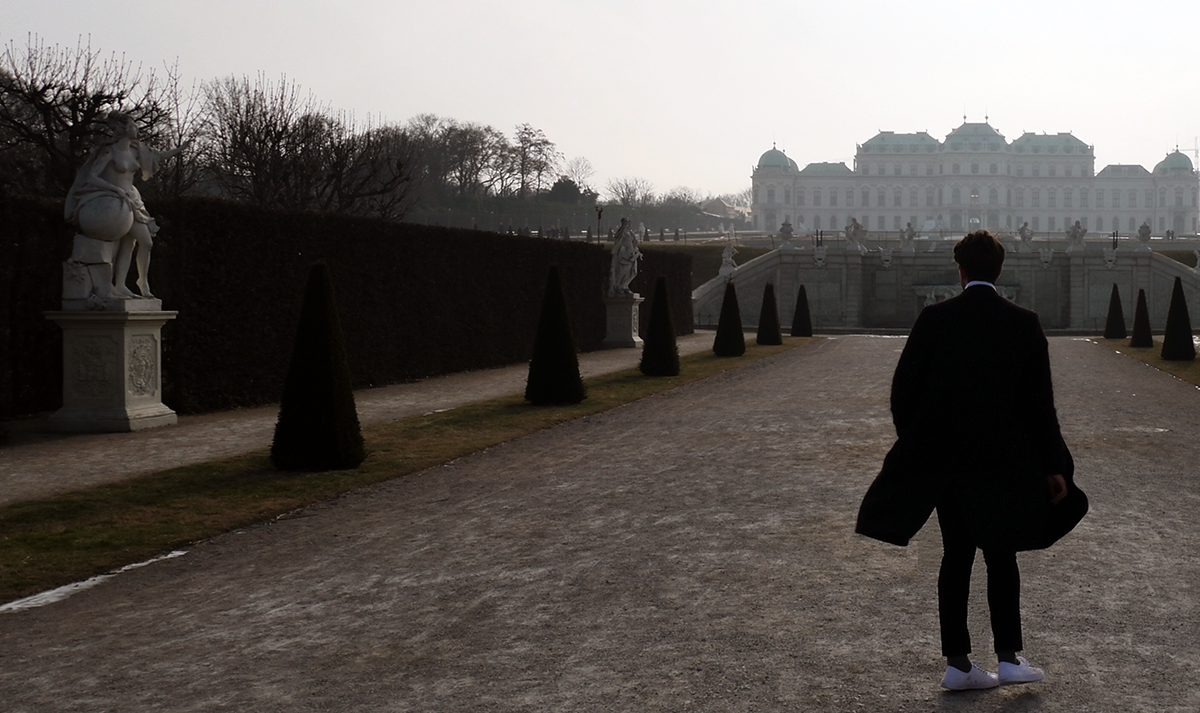 Belvedere Palace Gallery Grounds Winter Palace Vienna places to visit