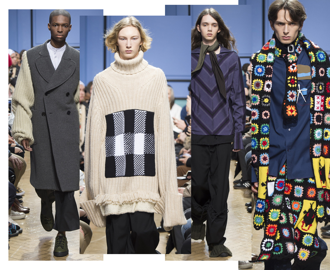 J.W. Anderson LCM London Collections Men LFWM London Fashion Week Menswear Knitwear Boyinbreton.com