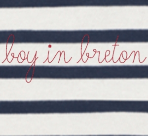 Maison Labiche Customised embroidered top boyinbreton.com boy in breton