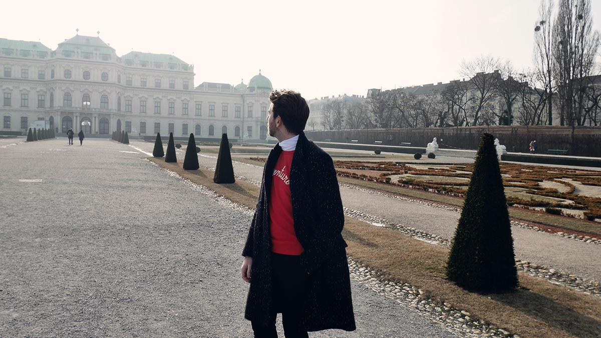 Maison Labiche Knitwear Outfit What I wore Vienna style men's fashion tips best dressed boyinbreton.com boy in breton