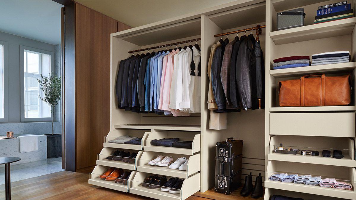Mr Porter wardrobe organization