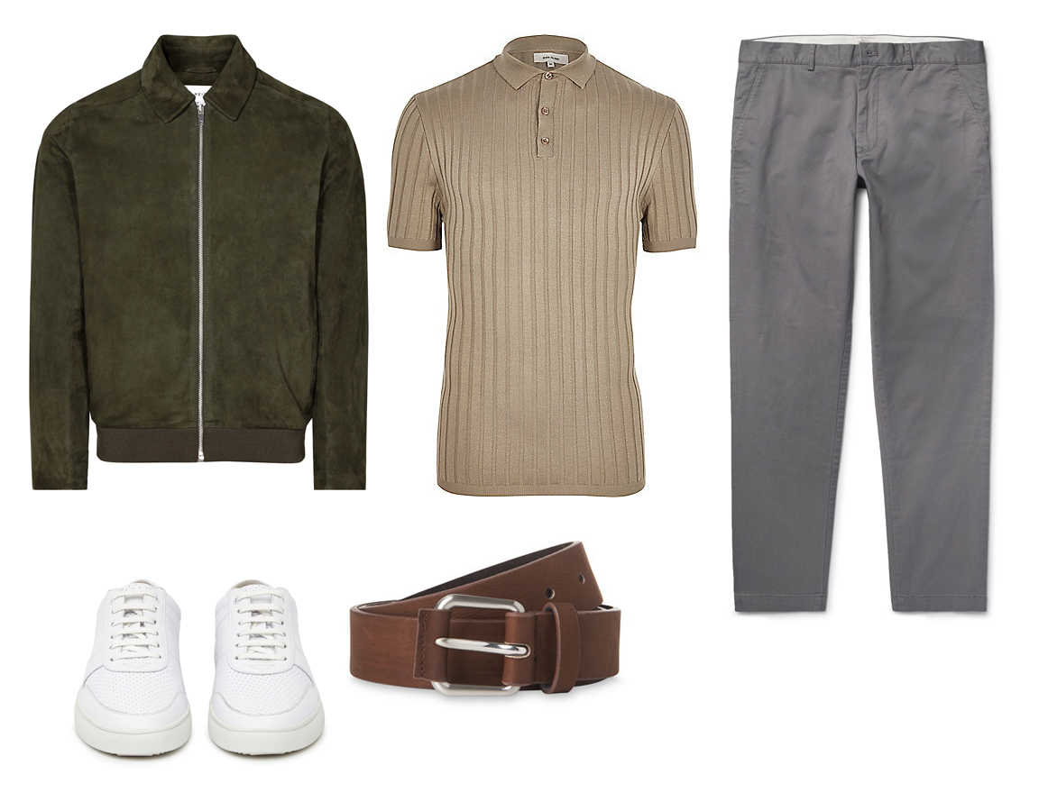 Reiss Green Mr Porter Matches Pantone 2017 How to wear style men's fashion wardrobe blog blogger Boyinbreton.com boy in breton