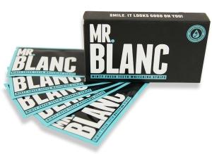 Mr Blanc Teeth Whitening Strips Kit Smile