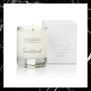 The White Company Sandalwood Candle Signature Interior Interiors Blog blogger boyinbreton.com boy in breton
