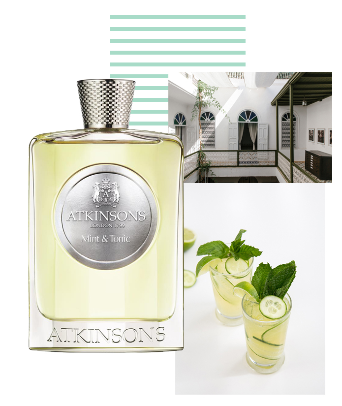 Atkinsons Mint Tonic bright parfum perfume fragrance luxury summer scents men menswear style fashion lifestyle boyinbreton.com boy in breton